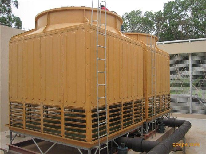 玻璃钢冷却塔(方形逆流式冷却塔)